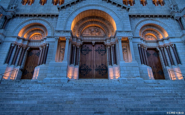 Cathedrale De Monaco by Crevisio