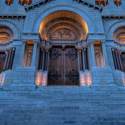 Cathedrale De Monaco by Crevisio