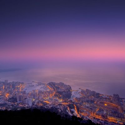 Good Morning Monaco by Crevisio
