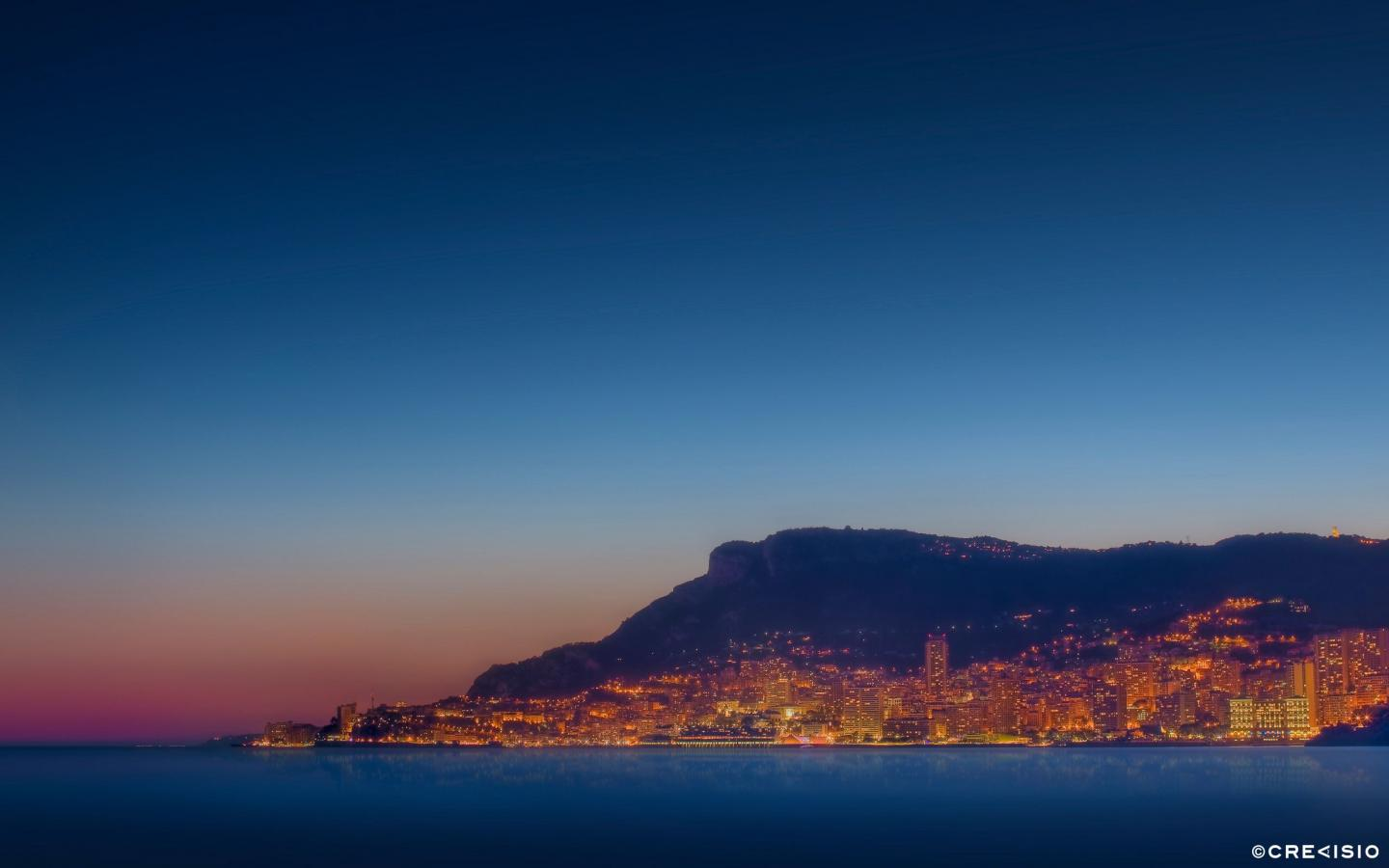 Monaco From Far by Crevisio