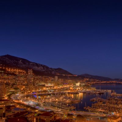 Monaco Port Hercule by Crevisio