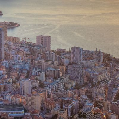 Early Sun in Monaco by Crevisio