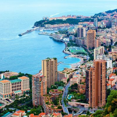 Cloudy Day in Monaco by Crevisio