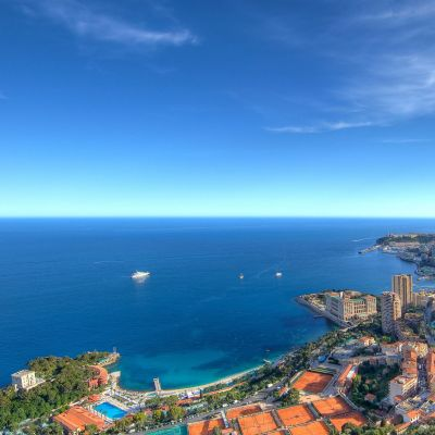 Evening Sun in Monaco by Crevisio