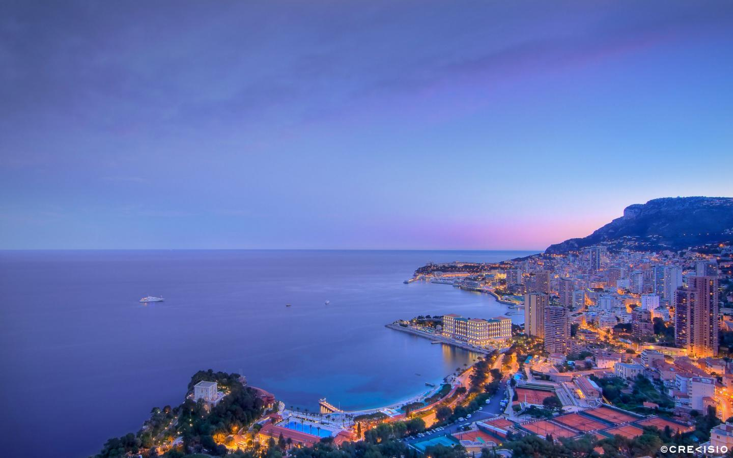 Purple Twilight Monaco by Crevisio