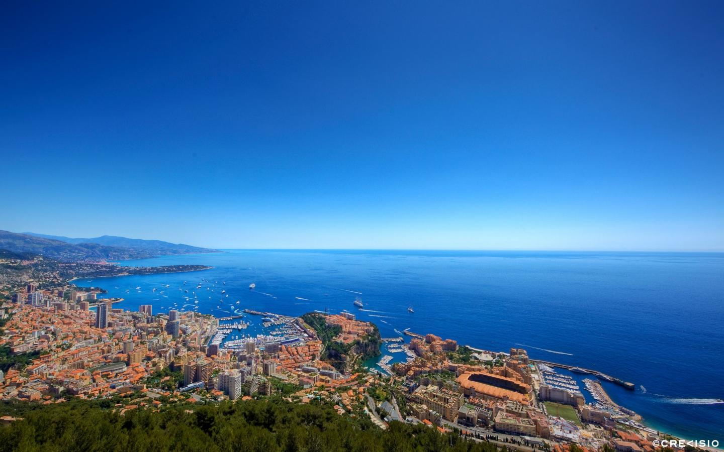 Monaco Panorama by Crevisio