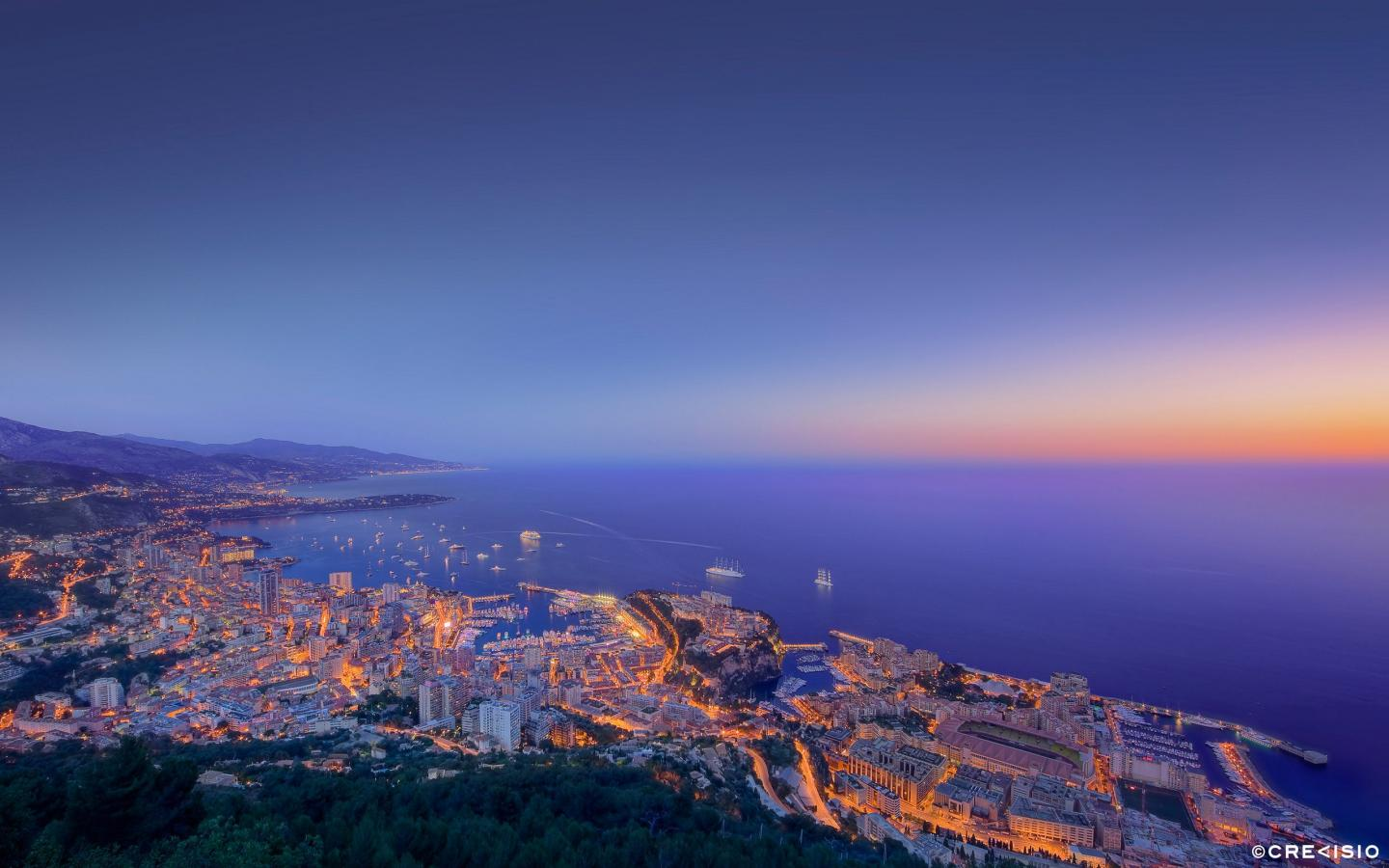 Monaco F1 Twilight by Crevisio