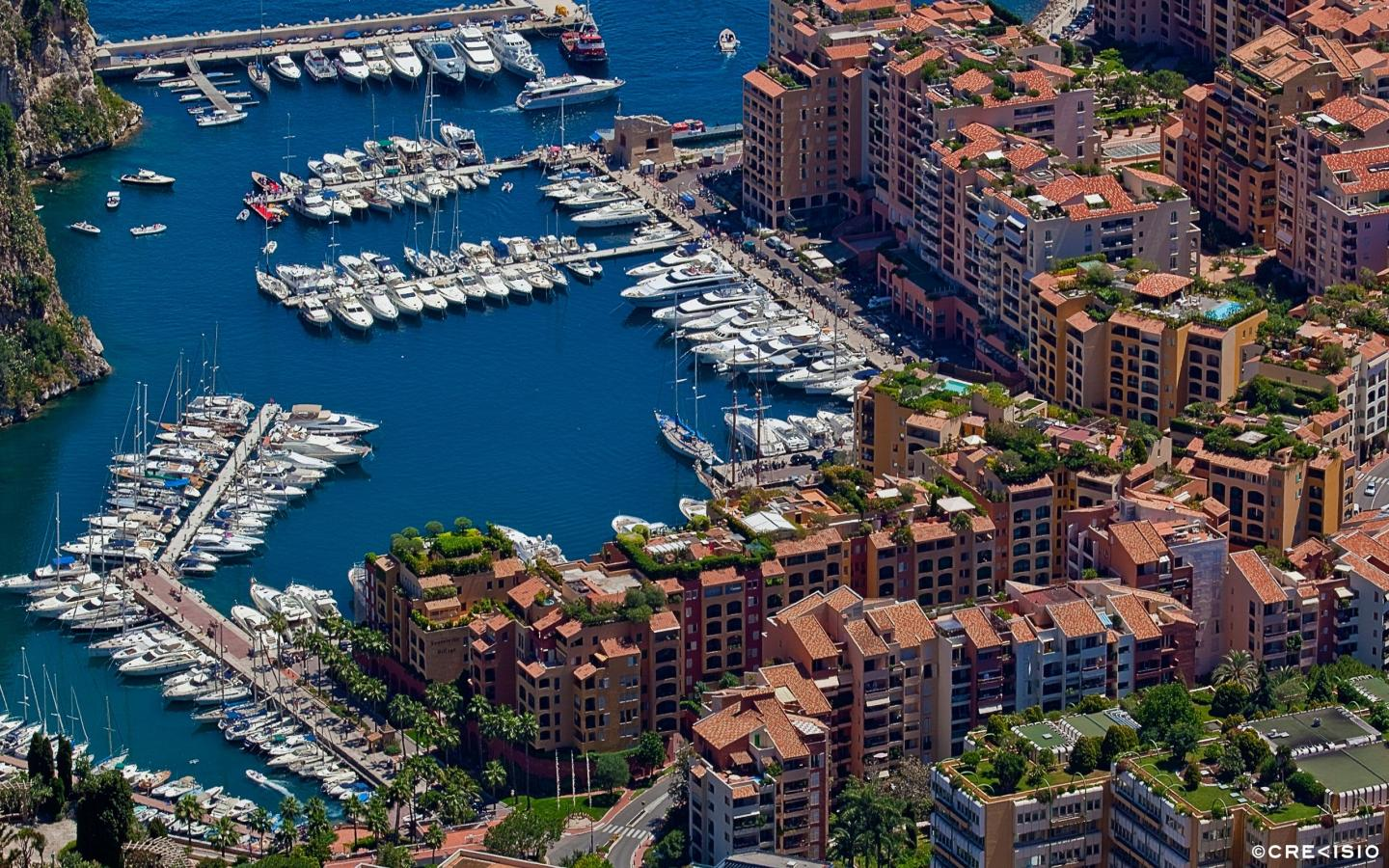 Monaco Fontvieille Cluster by Crevisio