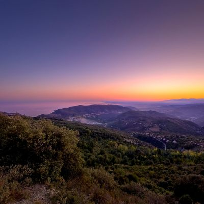 Mont Agel Twilight by Crevisio