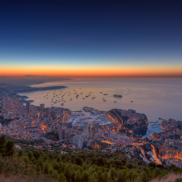 Monaco Yacht Show Sunrise 2012 by Crevisio