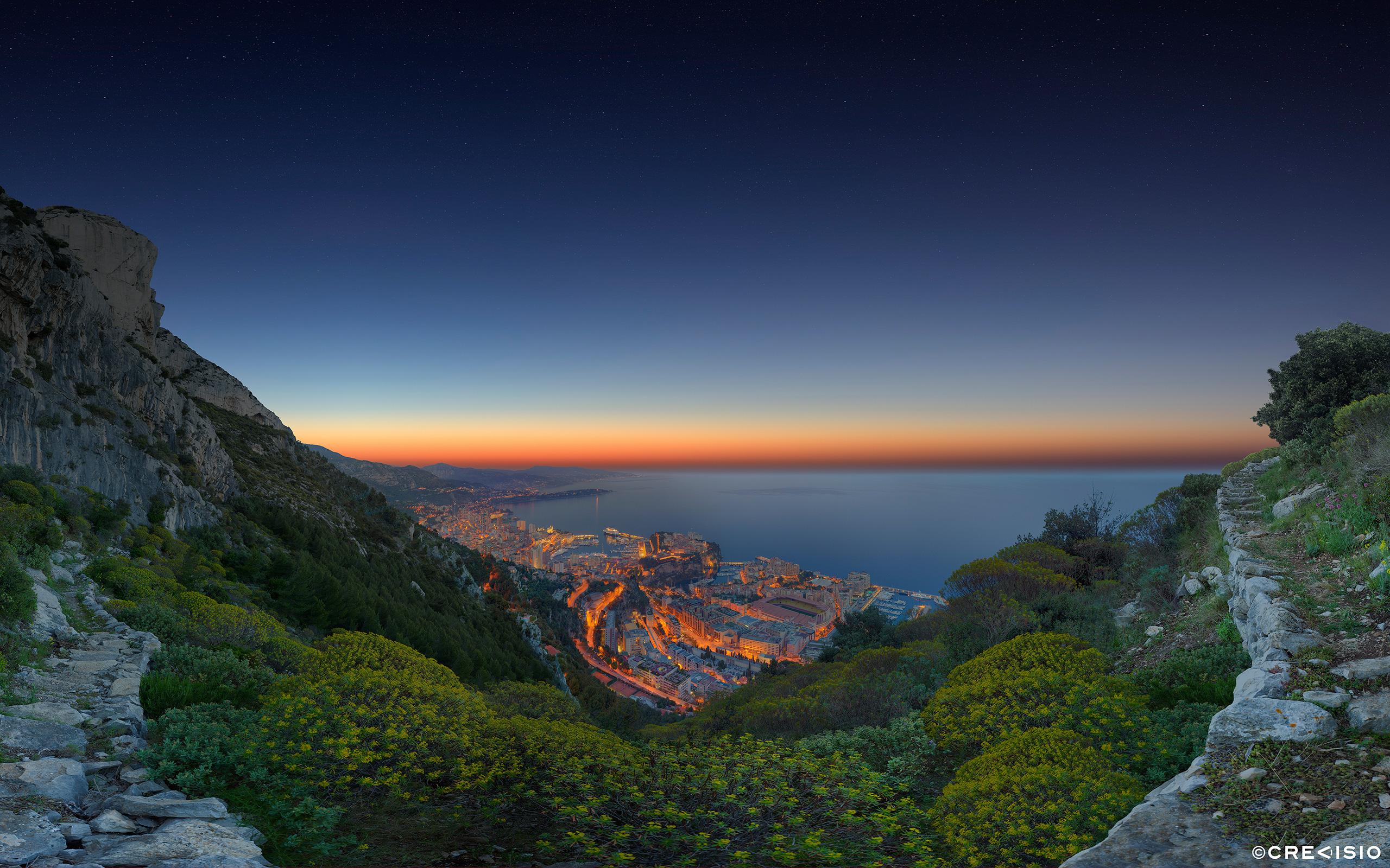 Monaco Formula E Sunrise 2015 by Crevisio