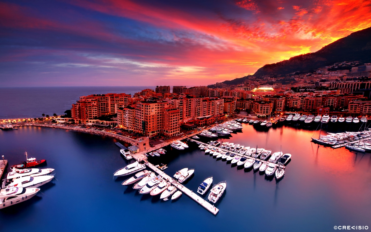 Monaco Fontvieille 2012 HDR by Crevisio