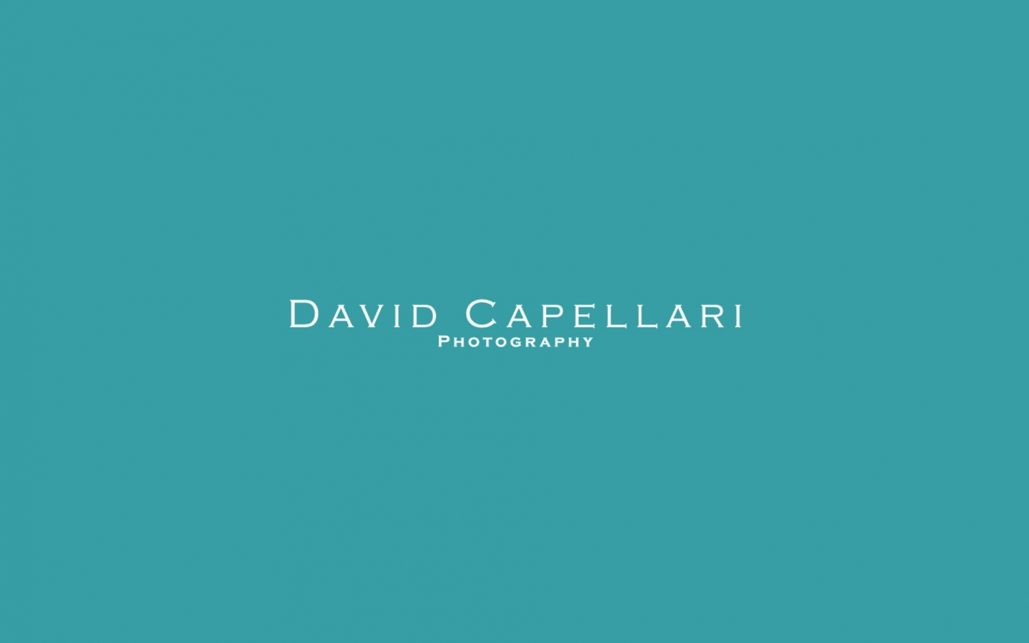 David Capellari Photography Branding Project by Crevisio