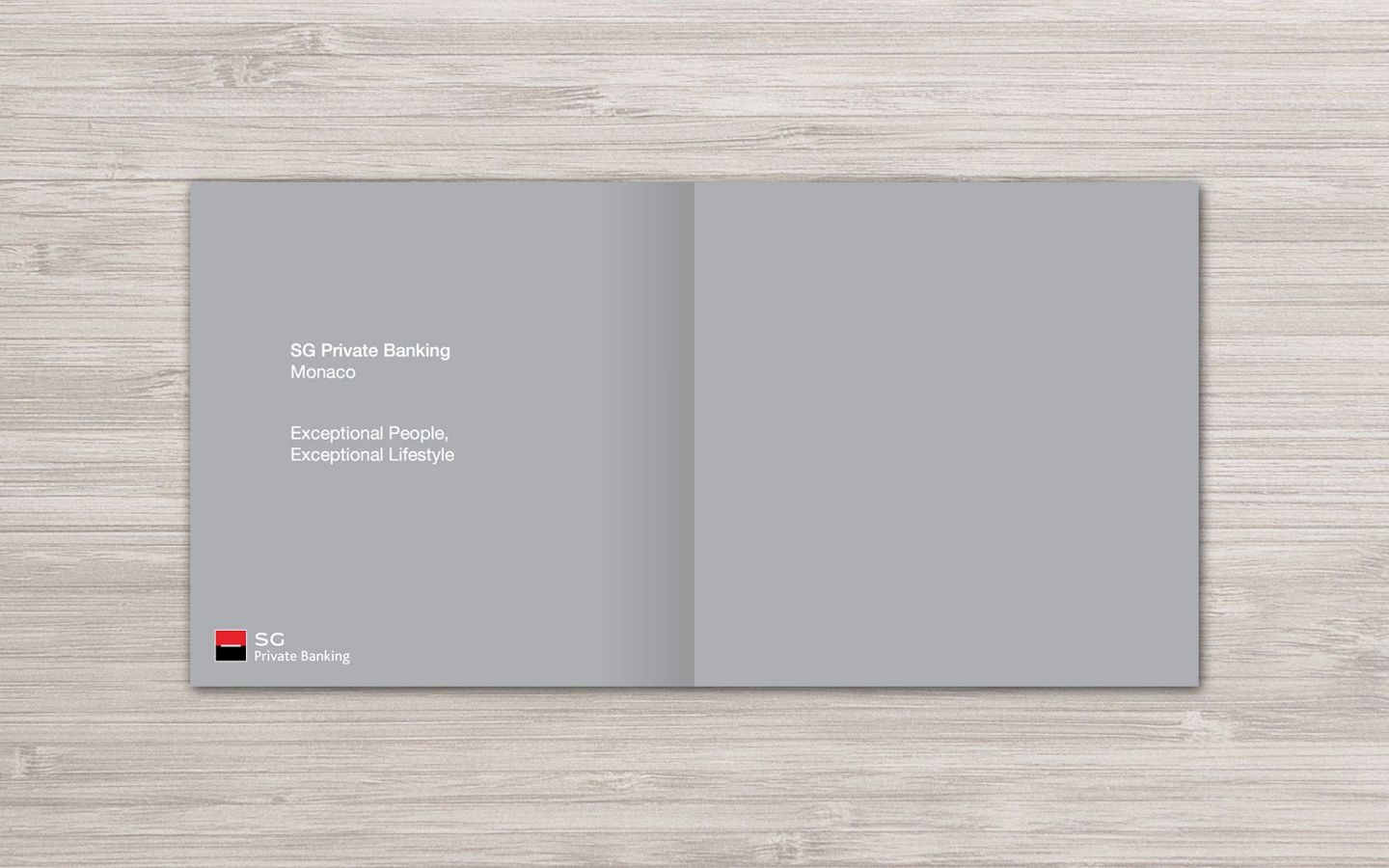 SG Private Banking (Monaco) Branding Project by Crevisio