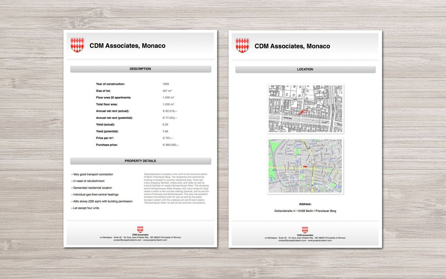 CDM Associates Branding Project by Crevisio