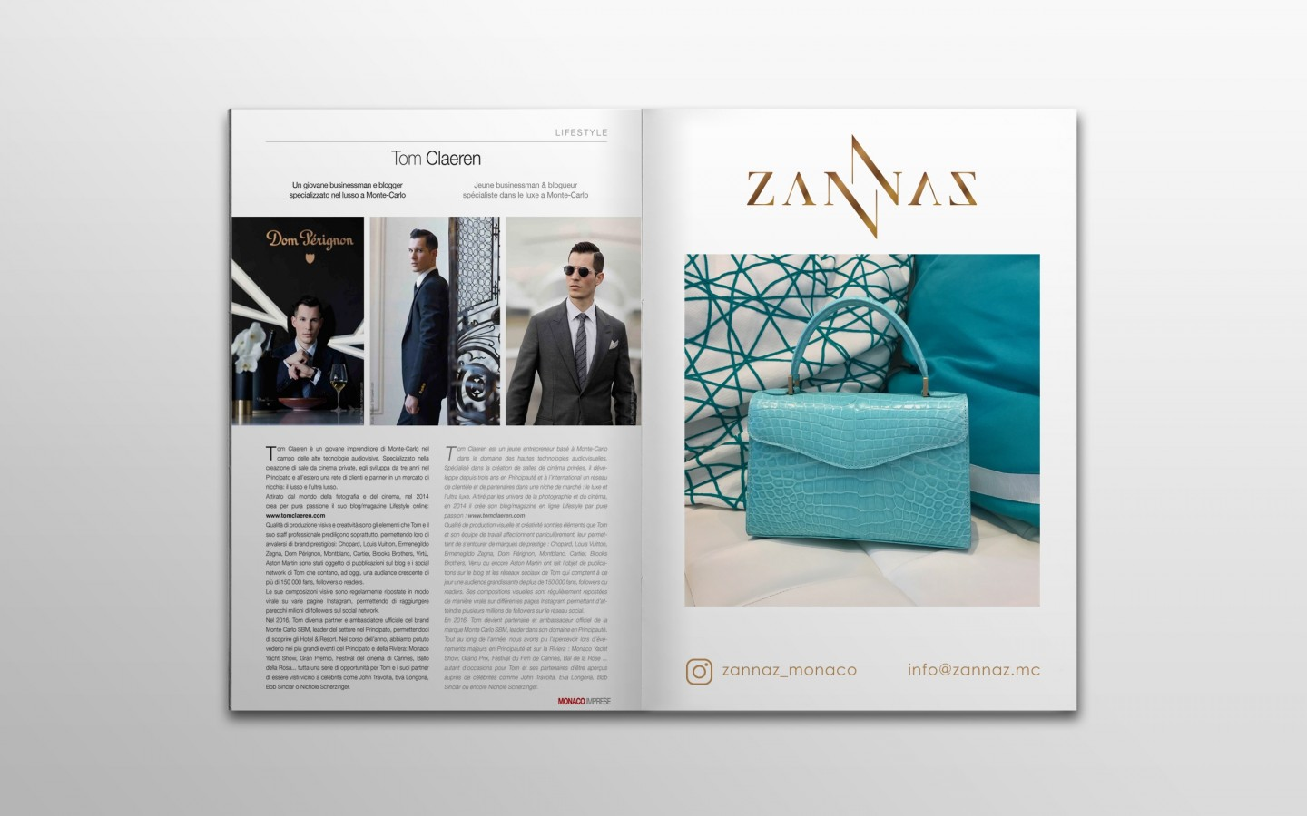 ZANNAZ Branding Project by Crevisio