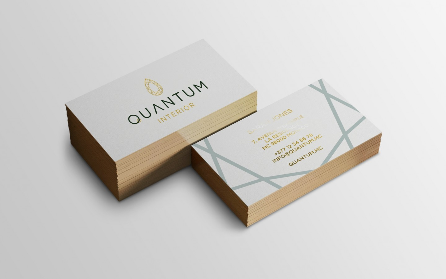 Quantum Interior Branding Project by Crevisio