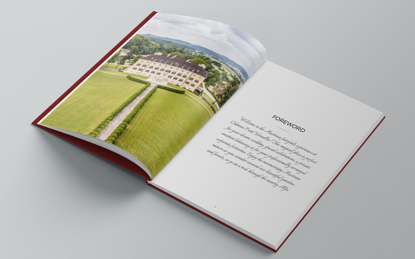 Château Petit Versailles Branding Project by Crevisio