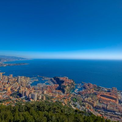 Monaco On A Clear Day by Crevisio