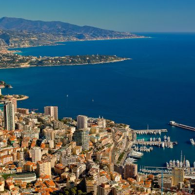 From Monaco To Bordighera by Crevisio