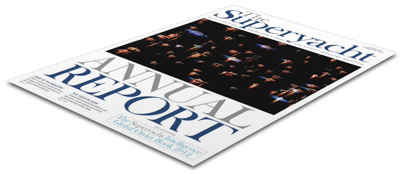 Superyacht Report Cover Page by Crevisio